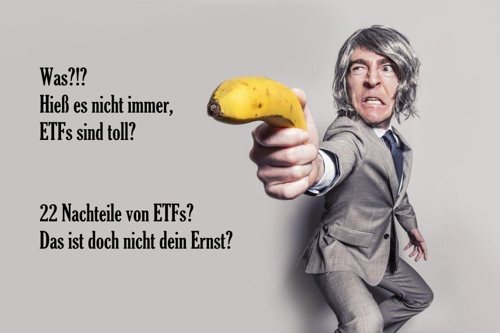 Sind ETFs für Anleger gefährlich. Was sind die Nachteile von ETFs, die meist einen Index abbilden?