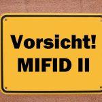 Auch ETF-Anbieter haben Probleme mit MIFID II
