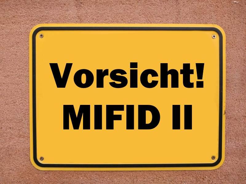 MIFID II schafft Probleme für Fonds- und ETF-Anbieter