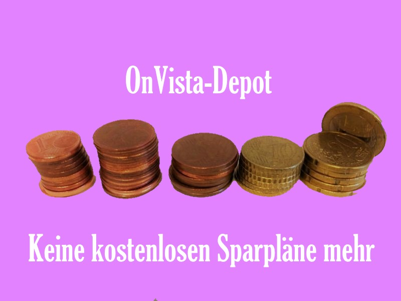 OnVista stellt kostenlose ETF-Sparpläne ein.