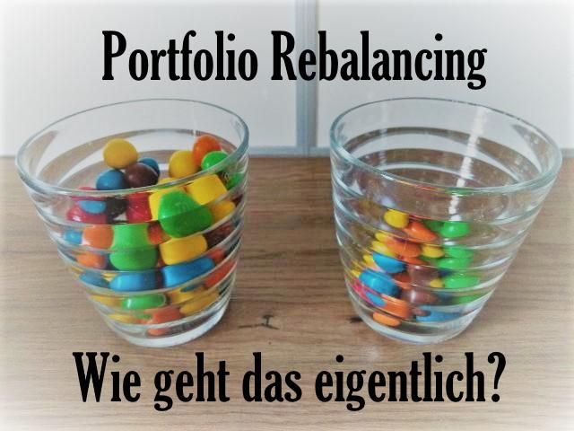 Portfolio Rebalancing - Wie geht das? 1