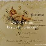 Ehe und Geldanlage - Die Ehe mein bestes Investment?