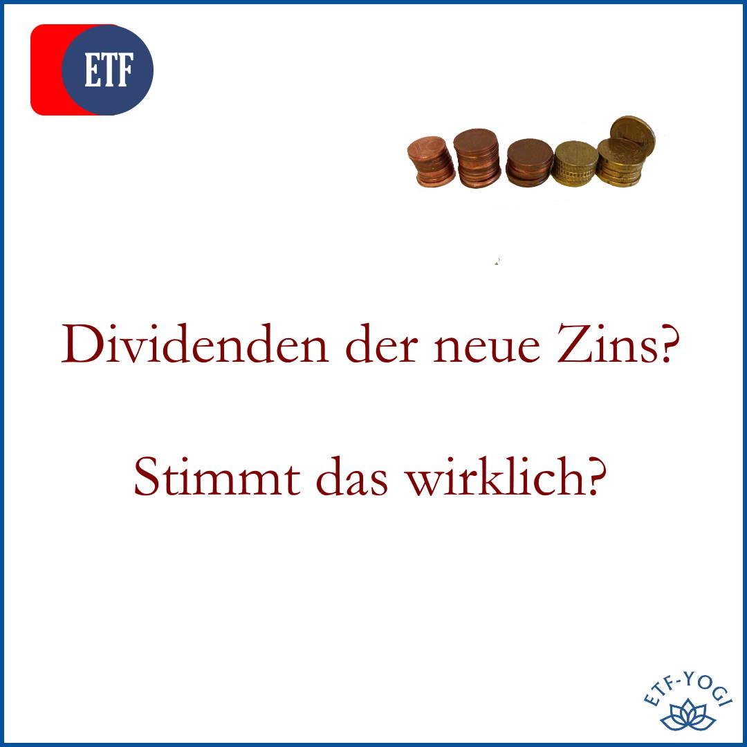 Sind Dividenden der neue Zins? – Wirklich?