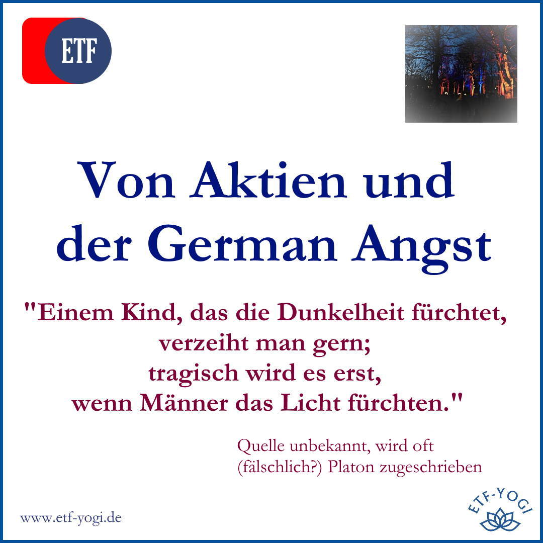 German Angst und Aktien - Furcht vor den falschen Sachen? 1
