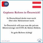 Österreich fördert bald private Altersvorsorge mit ETFs und Aktien?