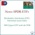 SPDR - News bei Global Dividend Aristocrats ETFs und TER